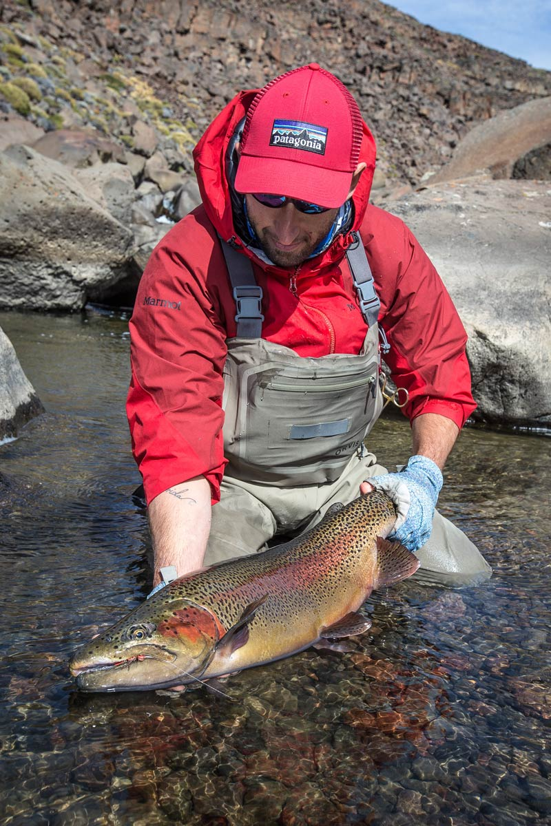 A stunner rainbow from the river.