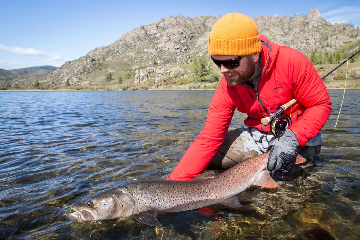 Mongolia fly fishing taimen sep aussie fly fisher for Fly fishing mongolia
