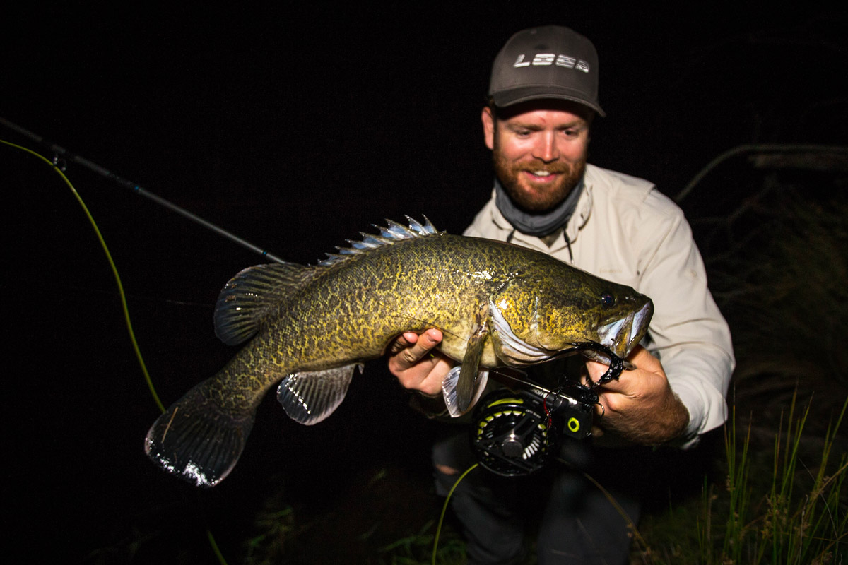 My Last fish of 2015 - Murray Cod off the surface!