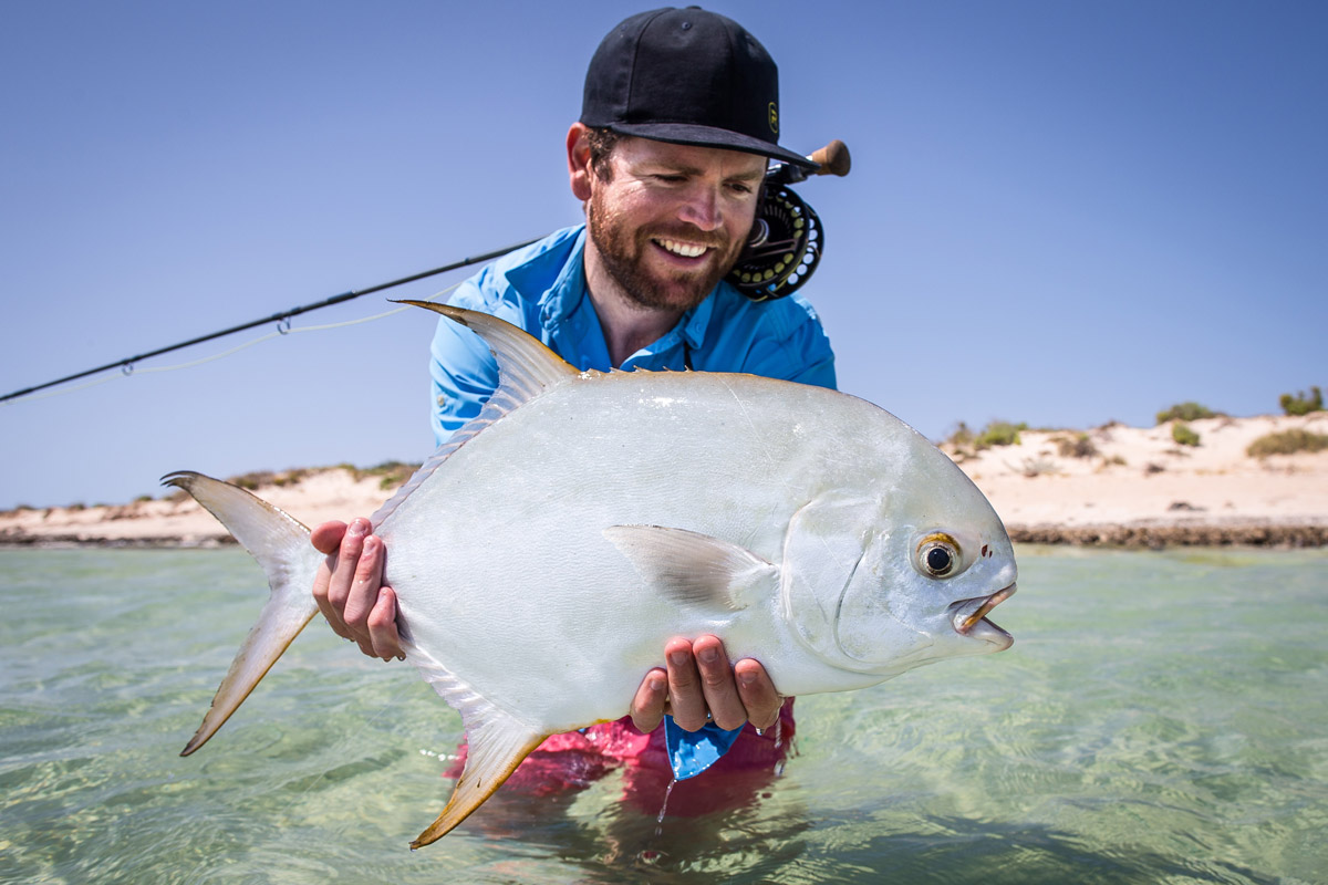 permit fly fishing exmouth sep aussie fly fisher