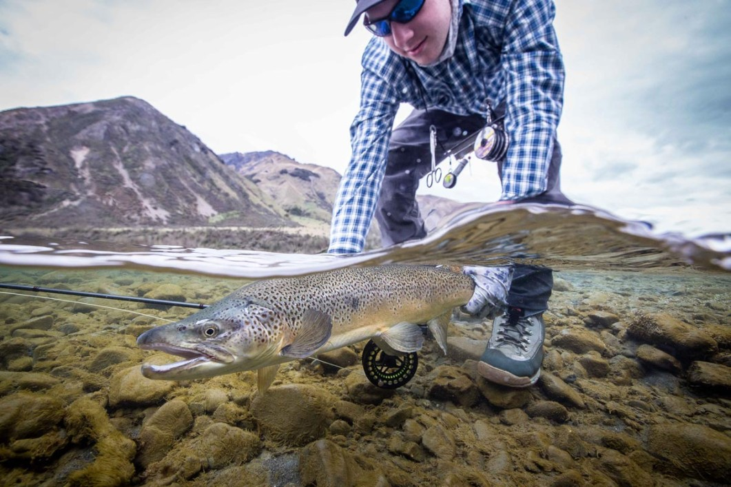 South island new zealand aussie fly fisher for Fly fishing new zealand